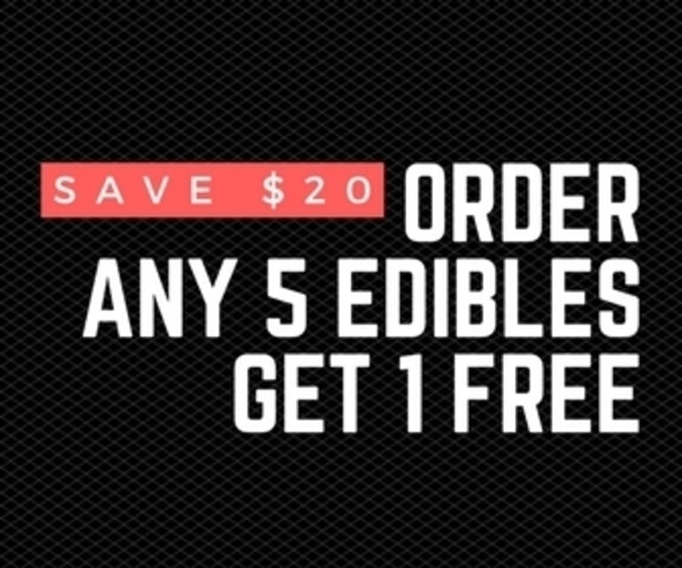 Elevation 207 Order 5 Edibles Get 1 Free