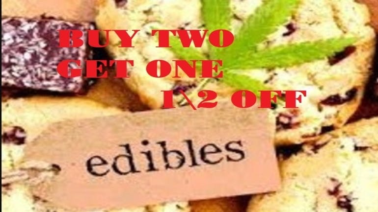 RE-UP Cannabis Dispensary EDIBLES BUY 2 GET ONE 50% OFF