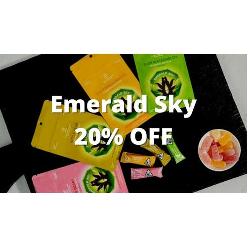 Mission Organic Delivery 20% OFF Emerald Sky Gummies