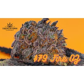 Trenchtown Cannabis $79 Rec Indoor, Fire Oz