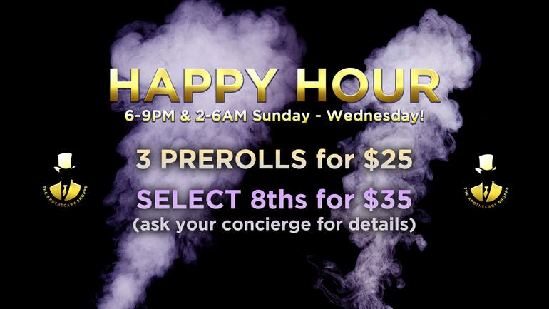 The Apothecary Shoppe - Las Vegas Strip Apothecary Shoppe HAPPY HOUR