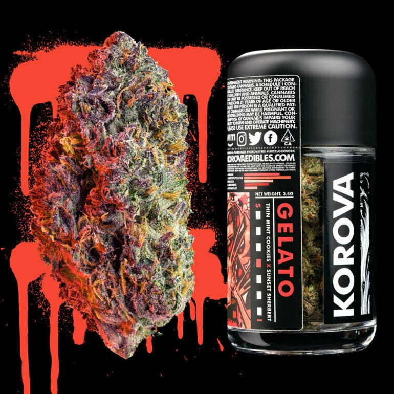 The Members Only Club Korova Gelato 4.5 grams only $50