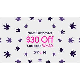 Amuse Cannabis Delivery [South LA] $30 Off Your First Order!