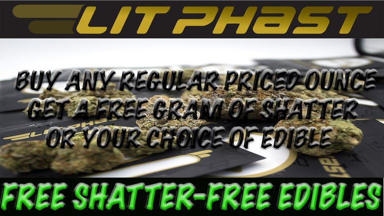 Litphast.com - Local Toronto Delivery FREE SHATTER-FREE EDIBLE W/OZ