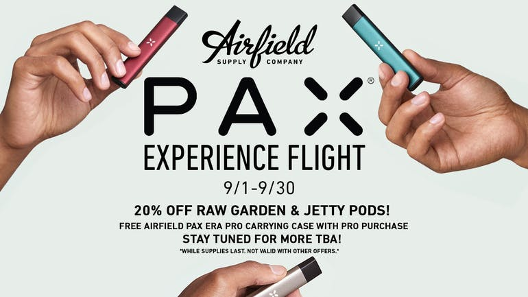 Airfield Supply Company 20% OFF-RAW GARDEN & JETTY PODS!