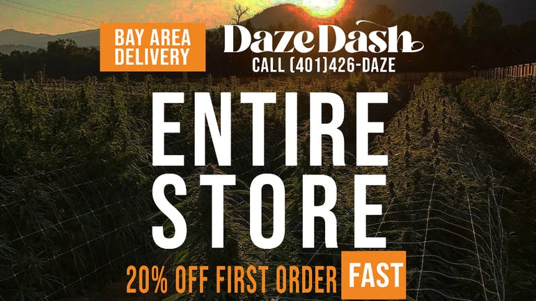 DazeDash First Time Orders 20% Off