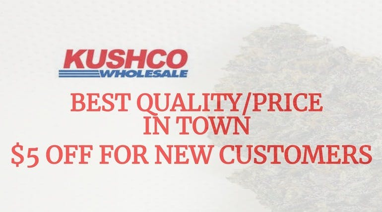 KushCo $5 DOLLARS OFF FOR NEW CUSTOMERS