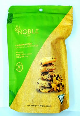 Edible -Noble Road Chocolate Chip Cookies 100mg