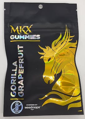 Edible - MKX Gorilla Grapefruit 100mg