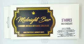 Edible - Midnight Roots S'mores Bar 100mg Medical Only
