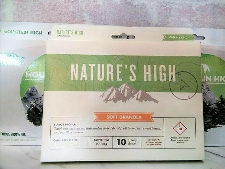 Freedom Road Nature's High Edibles 2 for $25!