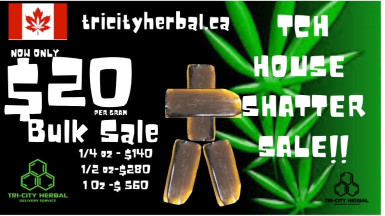 Tri City Herbal TCH HOUSE SHATTER SALE!!