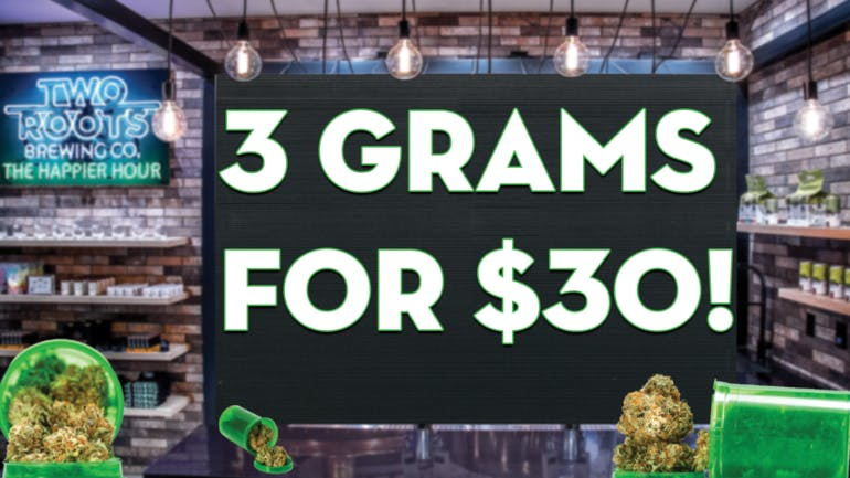 Las Vegas ReLeaf 3 Grams for $30 @ LVReLeaf!