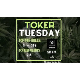 The Chronic Factory Toker Tuesday, pre-rolled deals