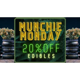 The Chronic Factory Munchie Monday 20% off edibles