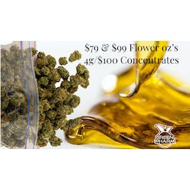 Green Pharm Bay City Recreational $79 oz's-4g/$100 Concentrates!!!