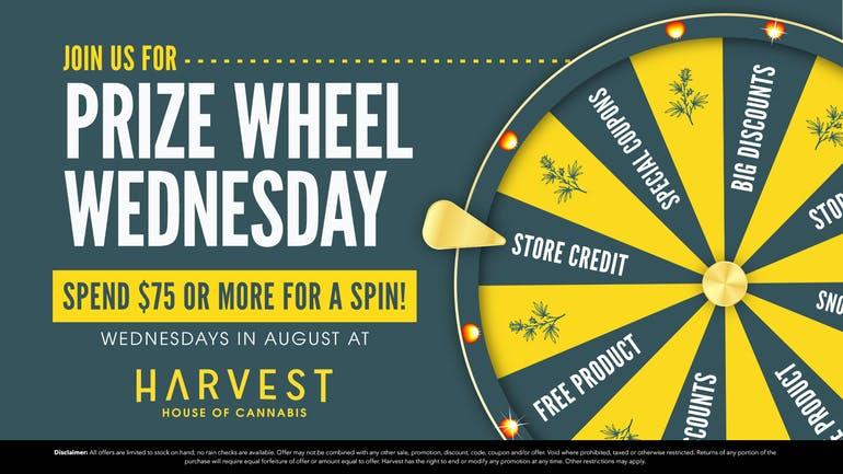 Harvest of Havasu (Formerly High Desert Healing) WHEEL! OF!! DEALS!!!