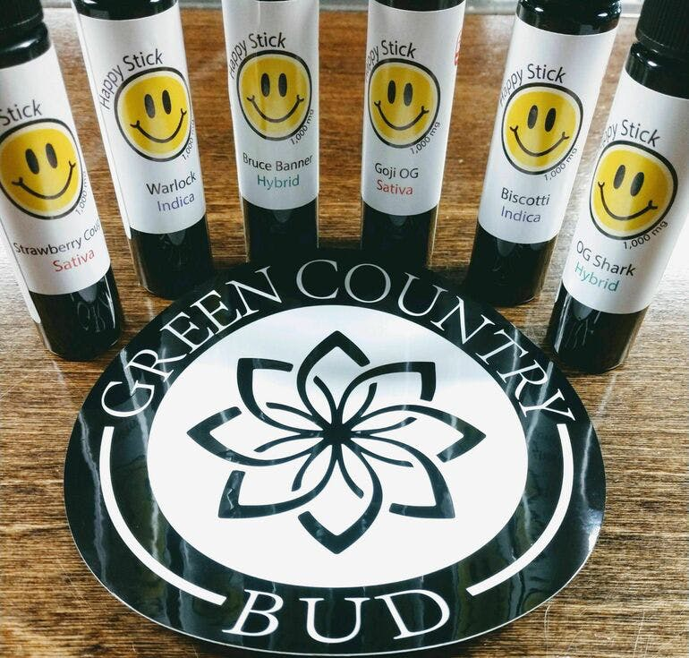 Green Country Bud - 91st & Yale Ave $38.99 Happy Stick 1g carts!