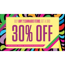 Mission South Chicago Buy 2 items, get 3rd for 30% off