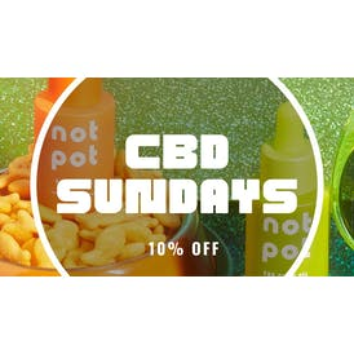 The Mericana 10% Off CBD- Sundays