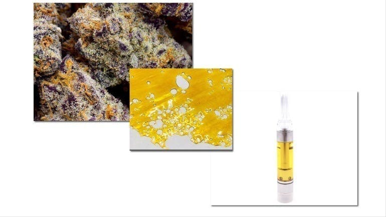 Calico Buds RX 2TS 1/8's 2 Carts 1 Shatter $95.