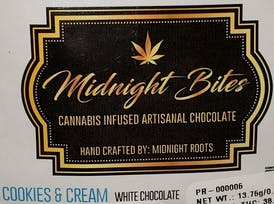 Midnight Roots Cookies & Cream Bites 40 MG