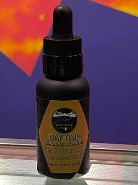Cold Creek Day Time Tincture- 50mg