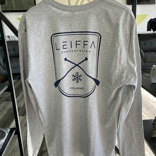 LEIFFA Gray Long Sleeve - Small