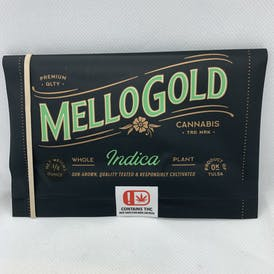 Mellow Gold - DIY Preroll Pouch and Papers - 7G - Slurricane - 18.4% THC