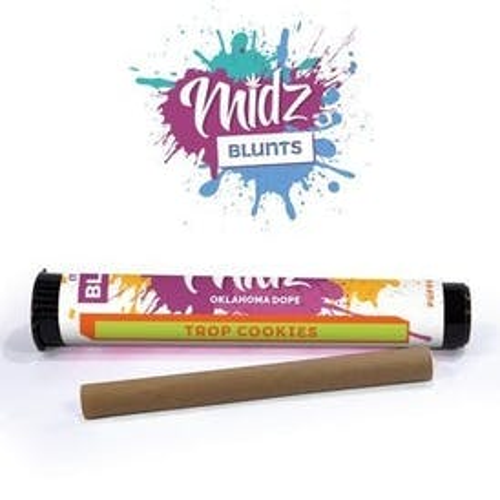 Midz - Tropicanna Cookies - Limited Edition - 2g kief infused blunt