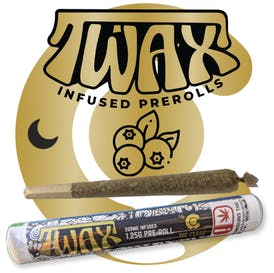 TWAX - TWAX INFUSED PRE- ROLLS - Blueberry - Night time