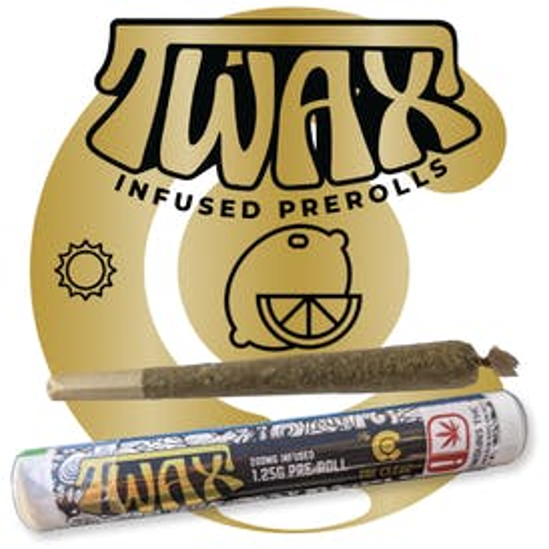 TWAX - TWAX INFUSED PRE- ROLLS - Lemon Hazw