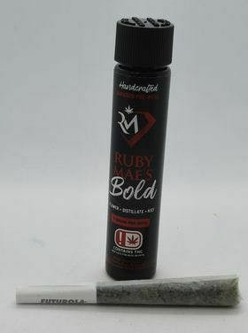 Ruby Mae's - Bold Infused (Indica) - 1g Prerolls