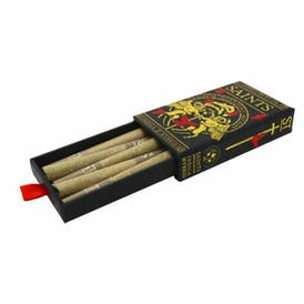 Blueberry Muffin 5-Pack Pre Rolls, 3.5g (Saints)