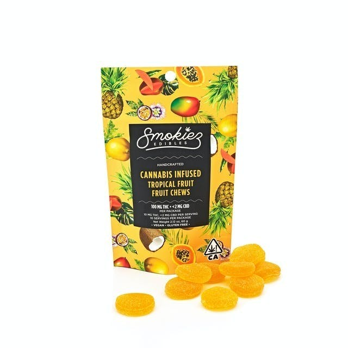 Smokiez Tropical Fruit 100mg