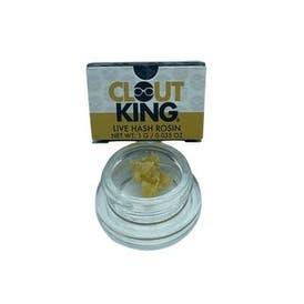 Clout King   Clout Cake   Live Hash Rosin   1g