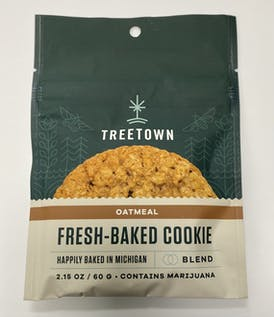 Tree Town - Oatmeal Cookie (H) 100mg (REC)