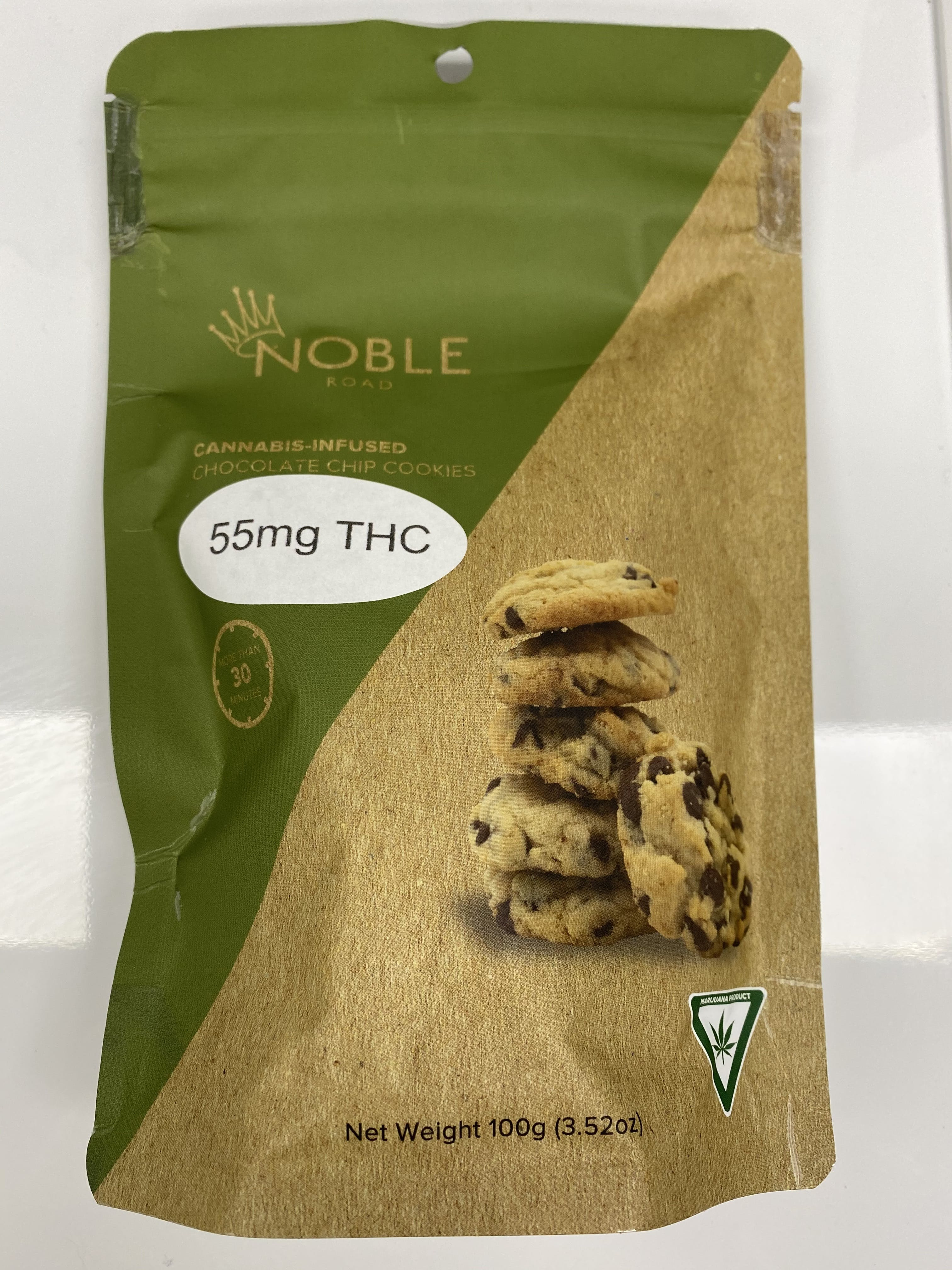 Noble Road 55mg Chocolate Chip Cookies (REC)