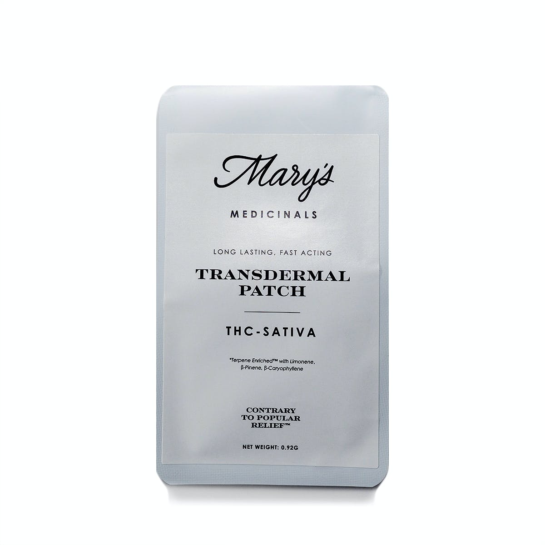 THC-Sativa Transdermal Patch