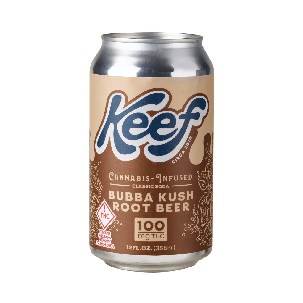 Keef Classic Bubba Kush Root Beer- MED