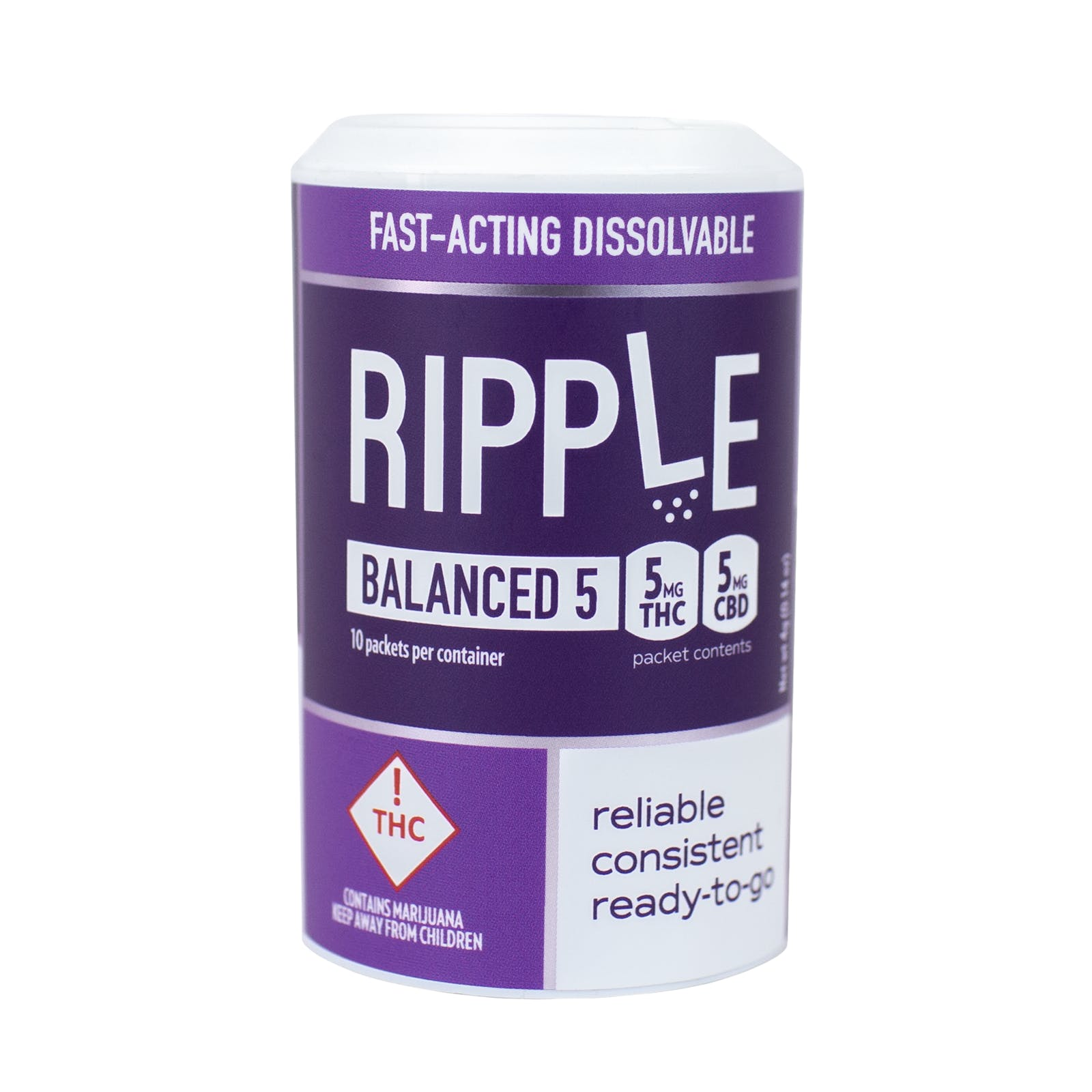 Ripple Balanced 1:1 CBD/THC