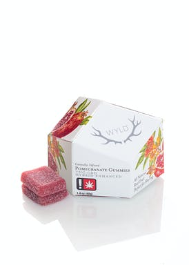 Pomegranate 1:1 CBD:THC Enhanced Gummies 50mg