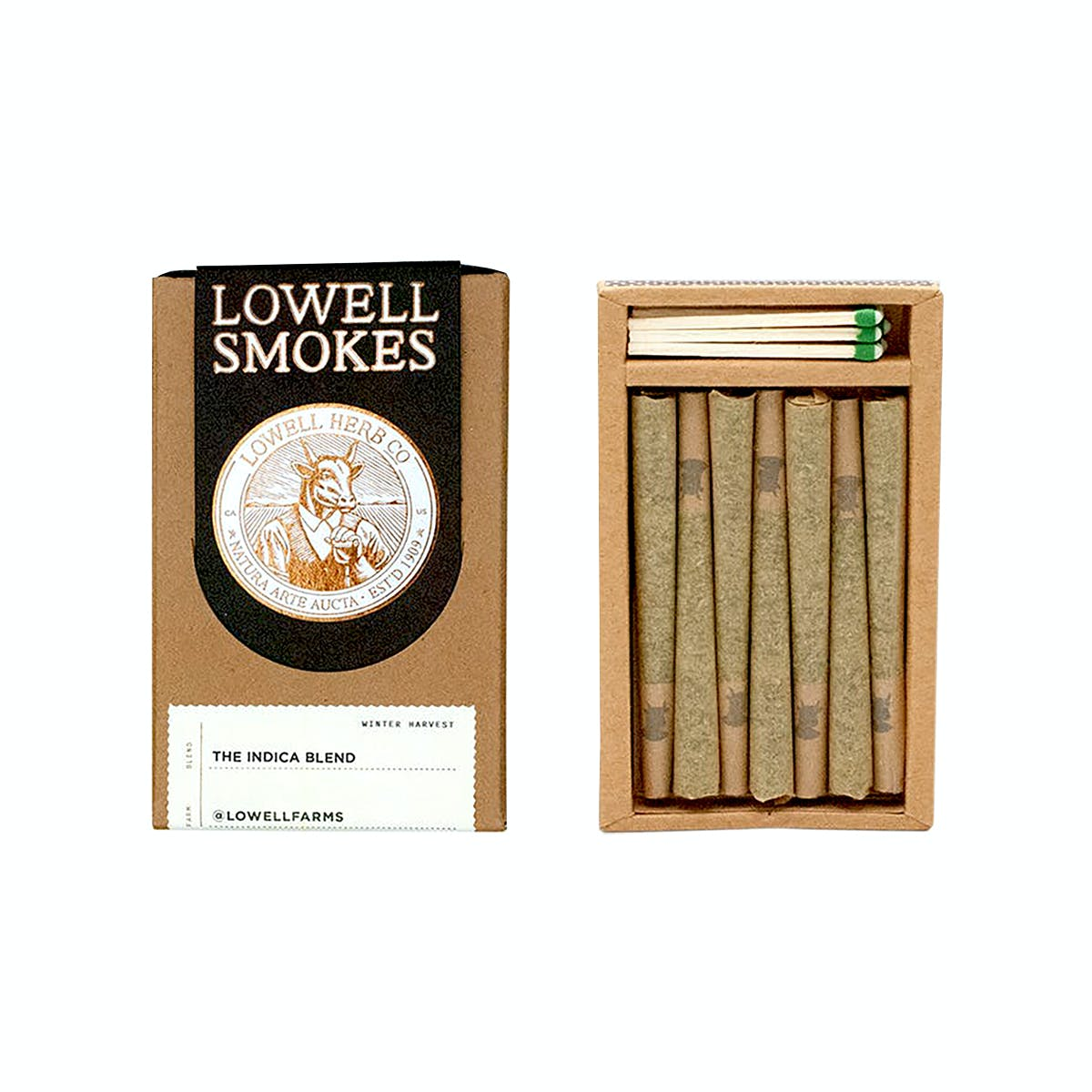 Lowell Smokes - The Indica Blend - 3.5g Pack