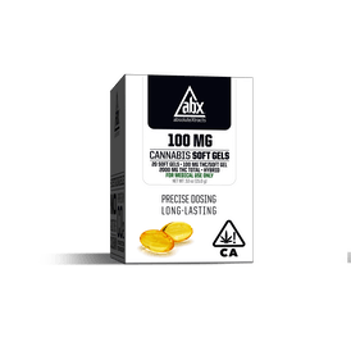 100mg Soft Gels - 20 Capsules