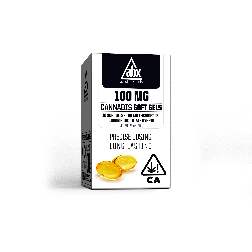 100mg Soft Gels - 10 Capsules