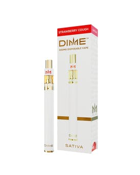 DIME 600mg Disposable - Strawberry Cough