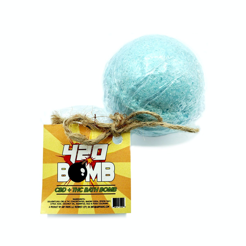 420 Bomb 1:1 Bath Bomb