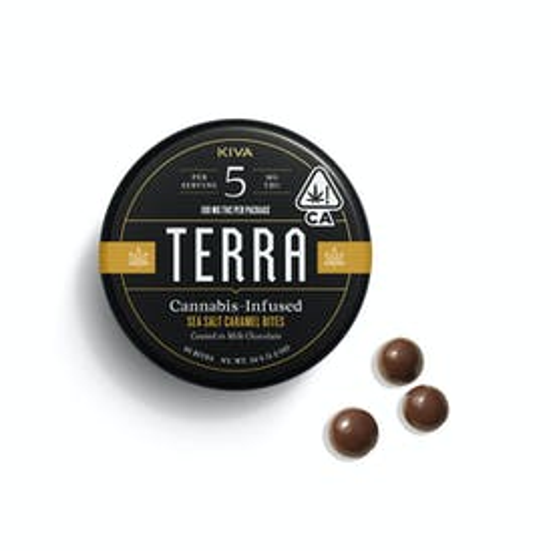 Terra Sea Salt Caramel Bites - 100mg