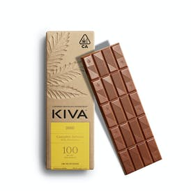 Kiva Churro Milk Chocolate Bar - 100mg