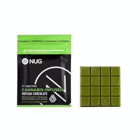 NUG Chocolate Bar - Matcha 1:1 Chocolate 100MG